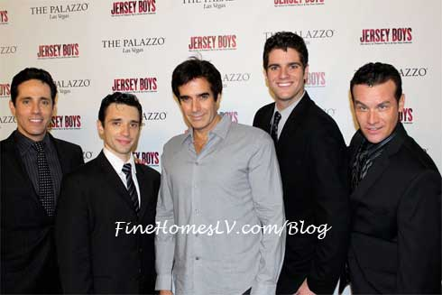 David Copperfield and The Jersey Boys