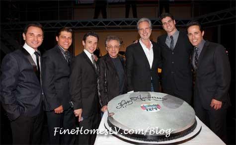 Jersey Boys Platinum Record Cake