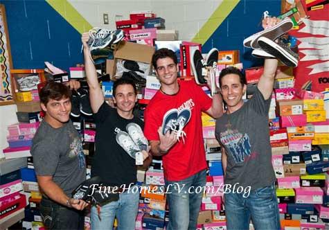 Jersey Boys Shoe Drive