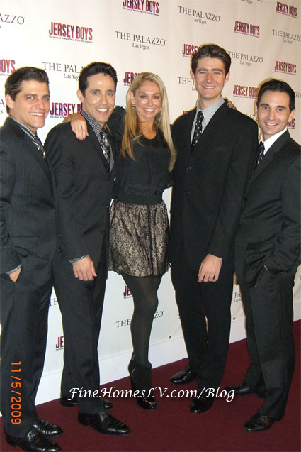 Kym Johnson and Jersey Boys