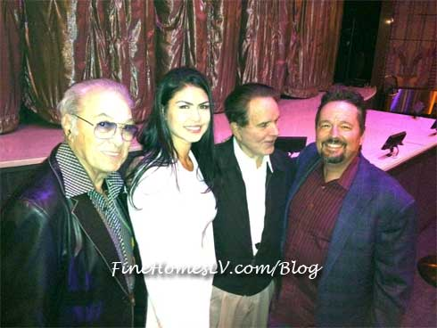 Terry Fator, Taylor Makakoa, Rich Little and Steve Rossi