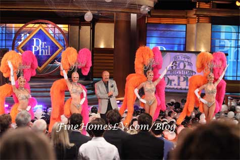 Dr. Phil and Jubilee Showgirls