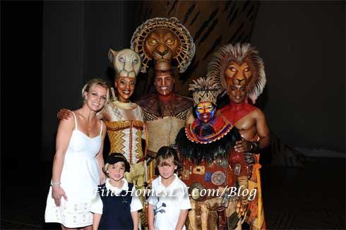 Britney Spears, Jayden James and Sean Preston