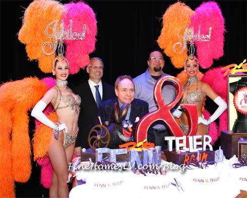Penn and Teller and Gary Selesner
