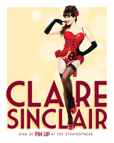 PIN UP Claire Sinclair