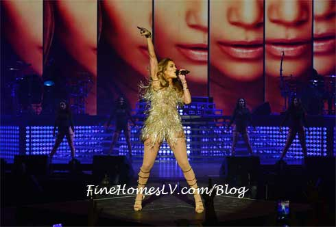 JLO Sings At The AXIS