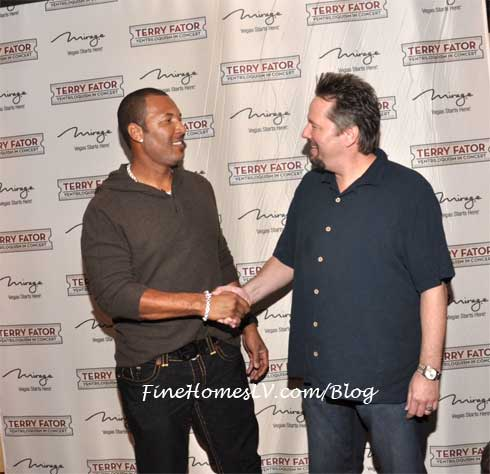 Gary Sheffield and Terry Fator
