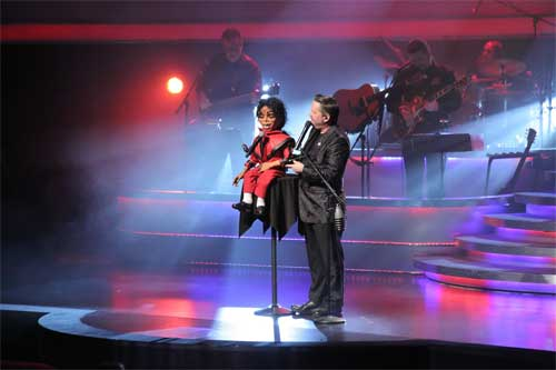 Michael Jackson and Terry Fator
