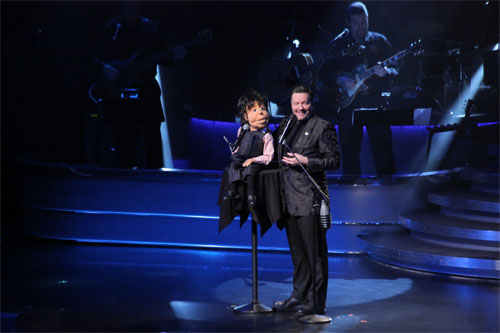 Paul McCartney and Terry Fator