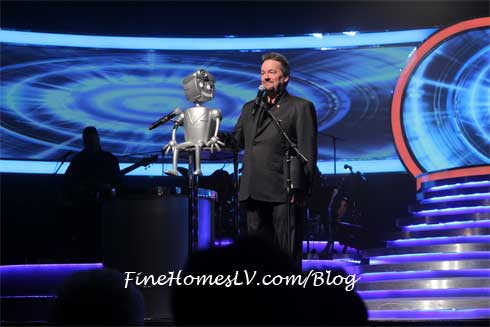 Rusty The Robot and Terry Fator