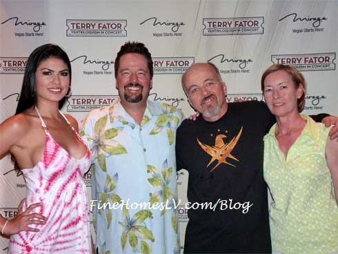 Taylor Makakoa, Terry Fator and Clint Howard