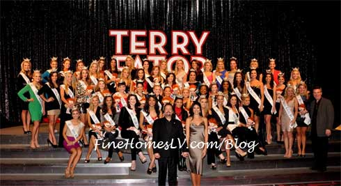 Terry Fator at Miss America 2013 Contestants