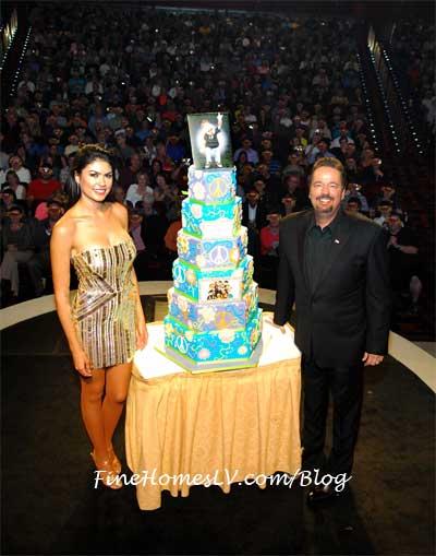 Terry Fatory and Taylor Makakoa Cake
