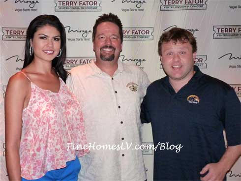 Terry Fator, Taylor and Frank Caliendo