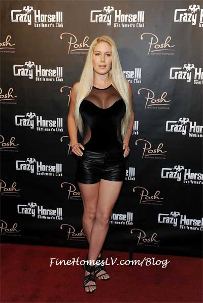 Heidi Montag and Crazy Horse III