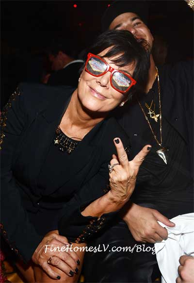 Kris Jenner at 1 OAK Las Vegas
