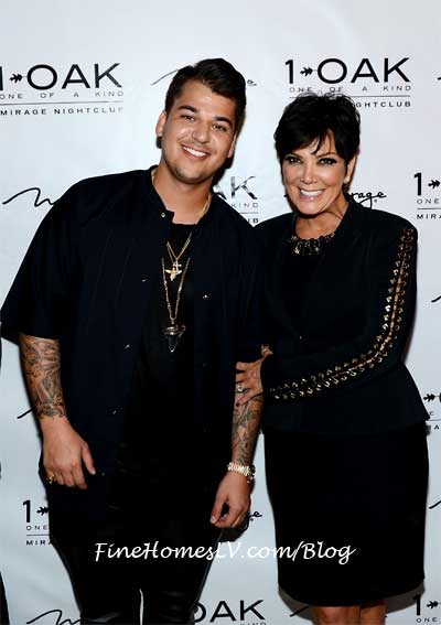 Rob Kardashian at 1OAK Nightclub