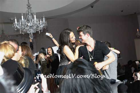 Robin Thicke at Bagatelle
