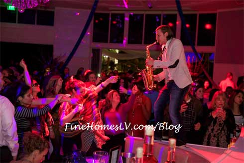 Sax Player at Bagatelle