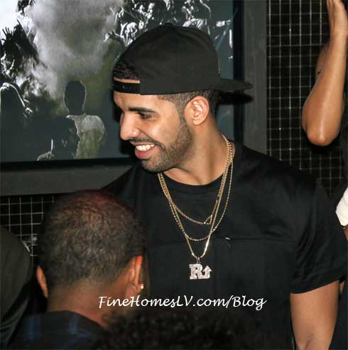 Drake at Body English Nightclub