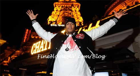 Nick Cannon at Chateau Gardens