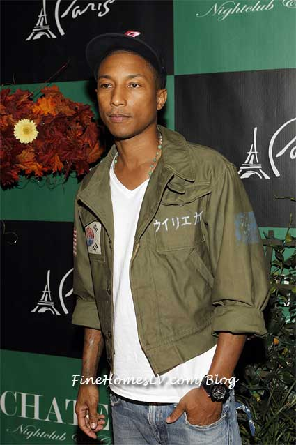 Pharrell Williams on the Red Carpet