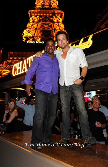 Alfonso Ribeiro and Sean Flanery