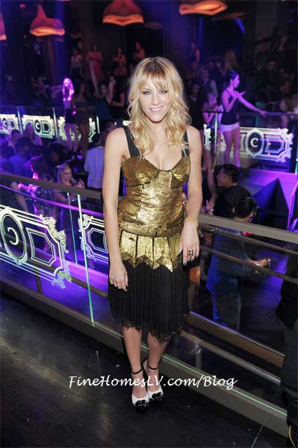 Brit Morgan at Chateau Nightclub