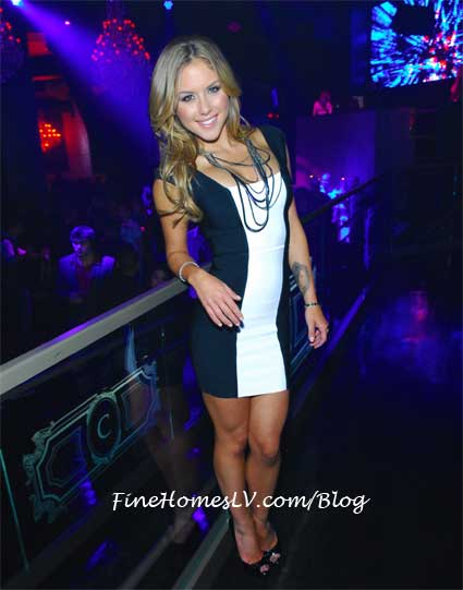 Brittney Palmer at Chateau