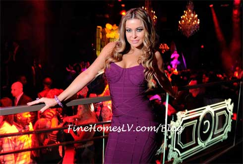 Carmen Electra at Chateau