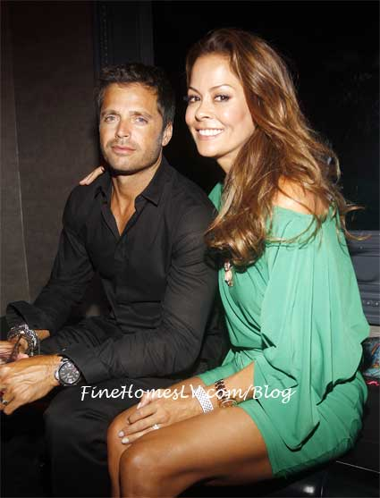 David Charvet and Brooke Burke