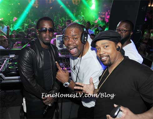 P Diddy, Biz Markie and Cool V