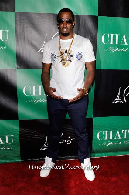Diddy At Chateau Nightclub