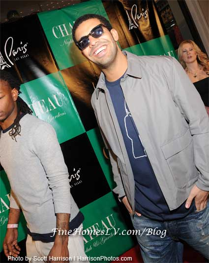 Drake at Chateau Nightclub