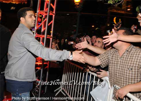 Drake and Fans
