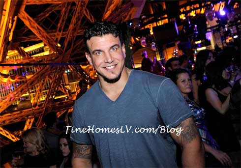 Frank Mir at Chateau Nightclub