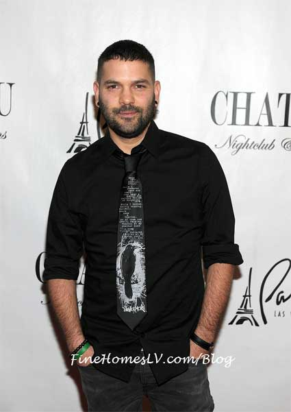 Guillermo Diaz at Chateau Las Vegas