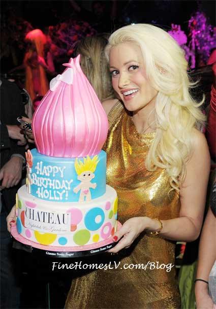 Holly Madison's Birthday Cake