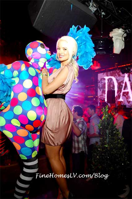 Holly Madison at Bazaar