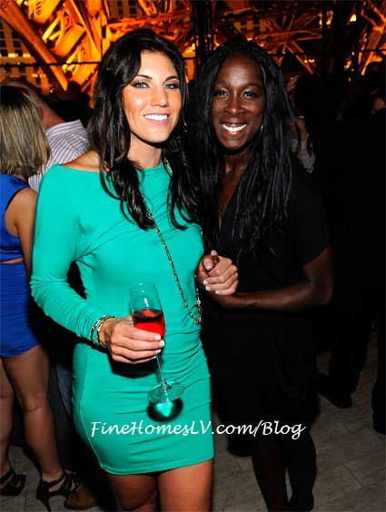 Hope Solo and Tina Ellertson