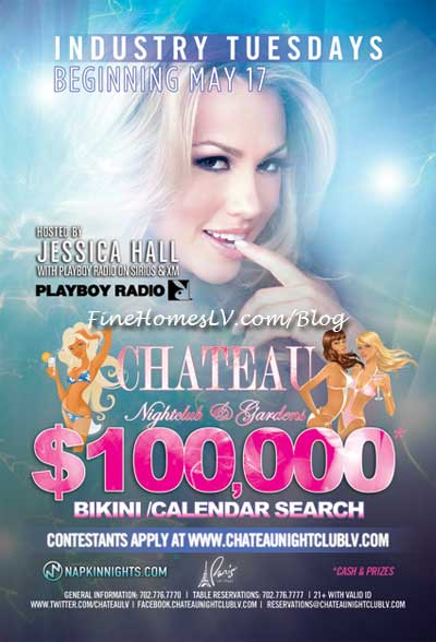 Jessica Hall Bikini Contest at Chateau Nightclub