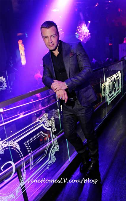 Joey Lawrence at Chateau Nightclub
