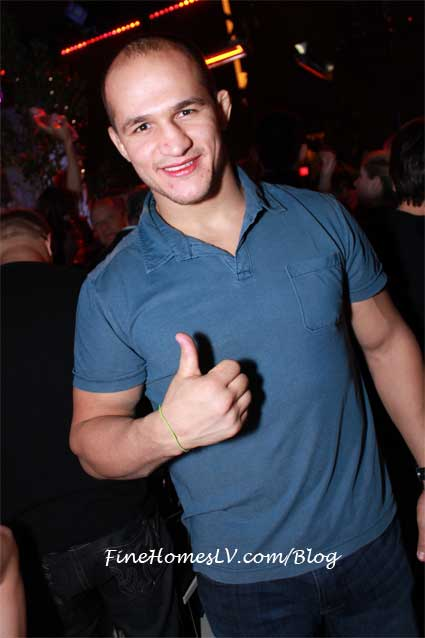 Junior Dos Santos at Chateau Nightclub