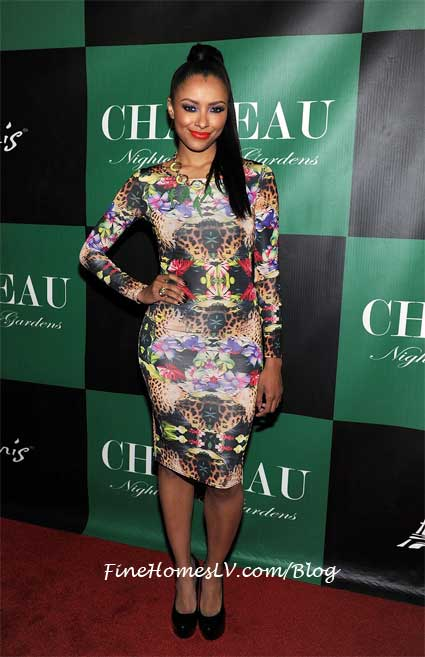 Kat Graham On The Red Carpet at Chateau