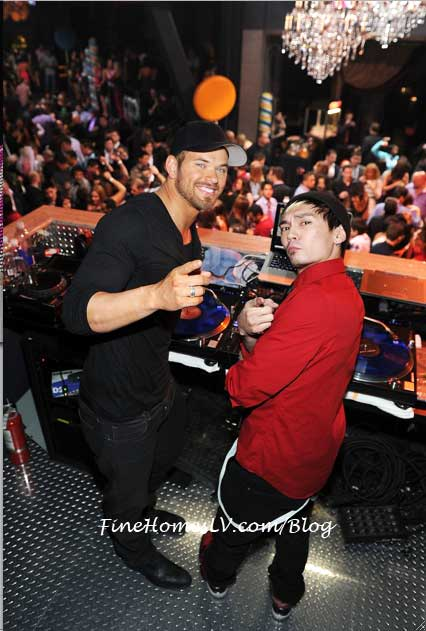 Kellan Lutz and DJ Dylan