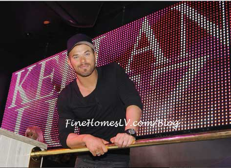 Kellan Lutz at Chateau Nightclub