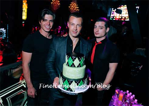 Matthew, Andrew and Joey Lawrence