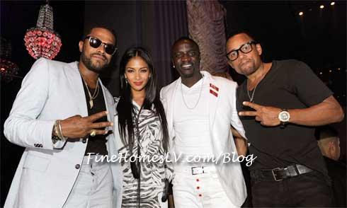 Maxwell, Nicole Scherzinger, Akon and Hill Harper
