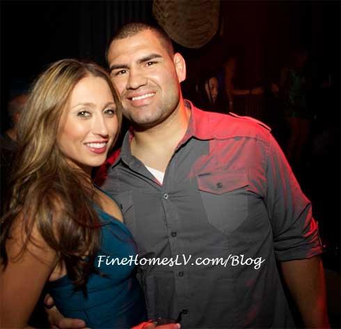 Michelle and Cain Velasquez