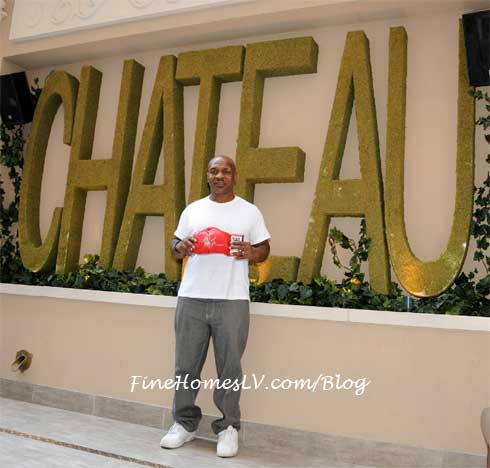 Mike Tyson at Chateau Nightclub